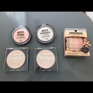 Highlighter Strobing Shimmer 5 Lot Beautiful Nude